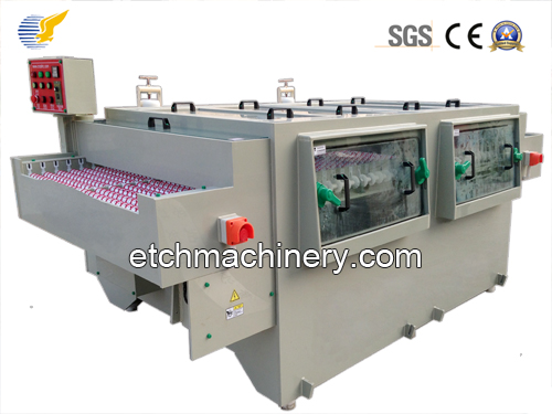 etching machine for stainless steel
