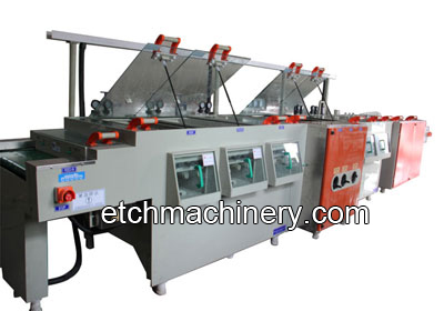 PCB Grinding Brushing Machine