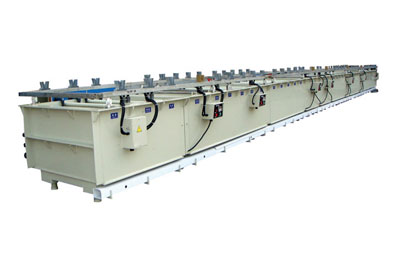 Manually nickel and Copper plating production line