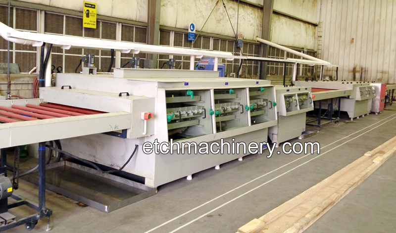 Decoration Plate Etching Production Line