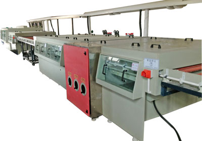 Decoratin plate etching production line